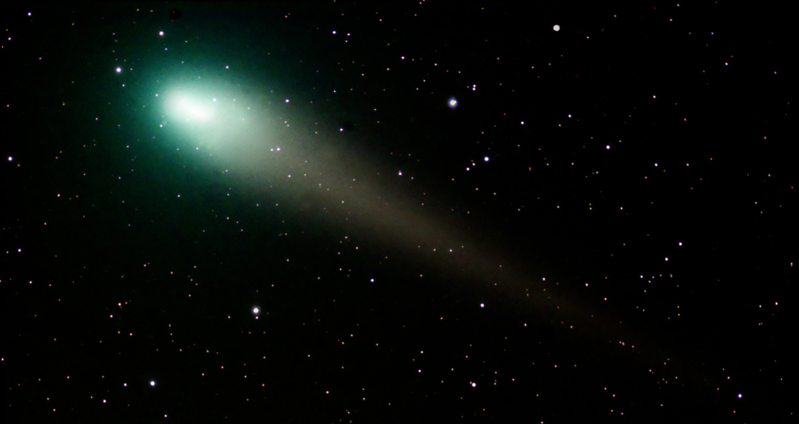 comet Lulin by richard higby